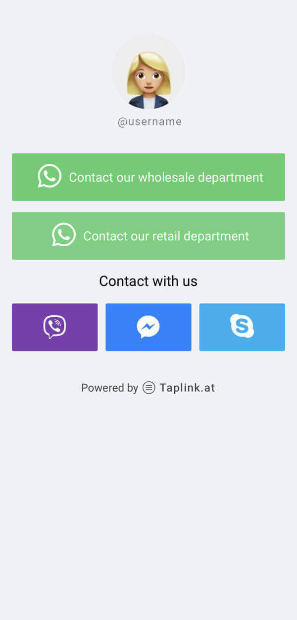 Taplink: Online messaging